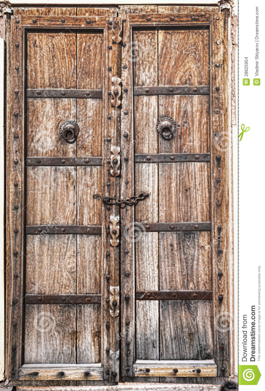 Old Wooden Door Stock Images Image 28625904