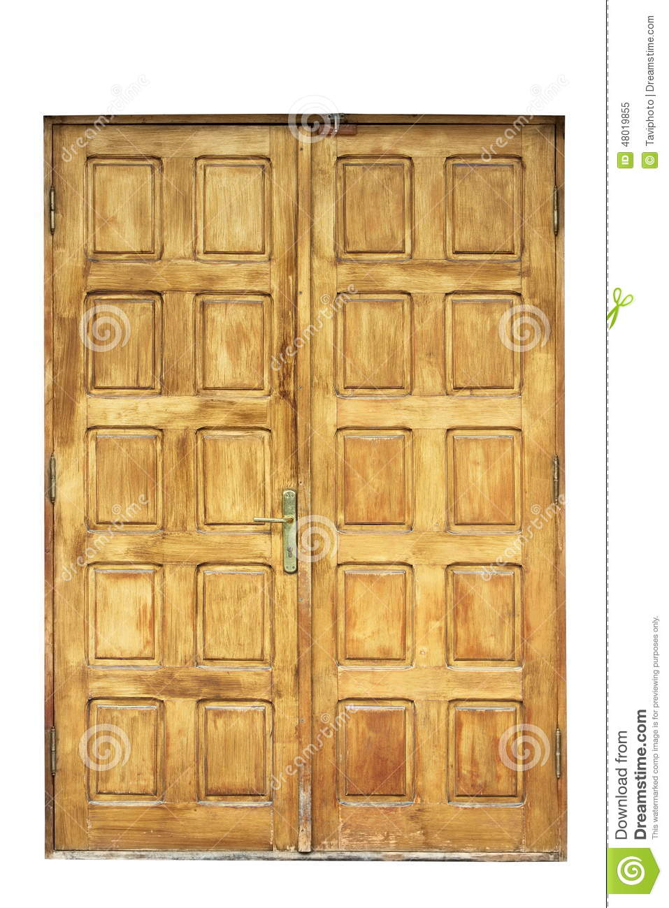 Old Wooden Door For Your Design Stock Image Image Of Lumber