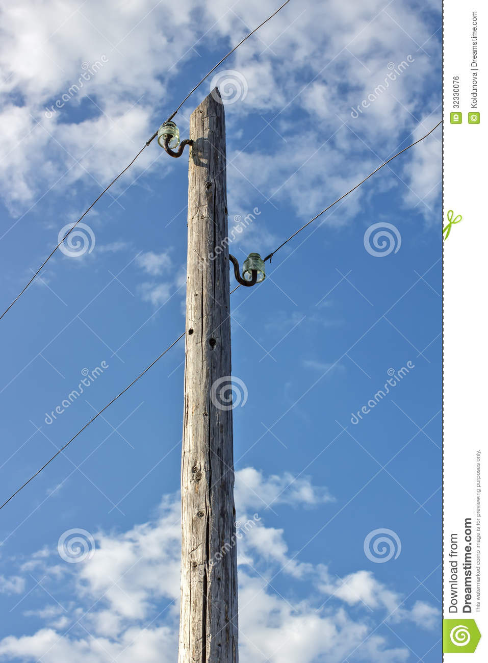 Types of electric poles in overhead transmission lines - Electrical