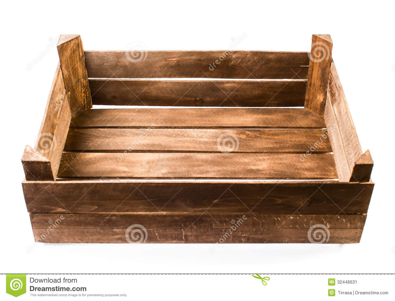 Old wooden empty box stock image image 32446631 for What to do with old mailbox