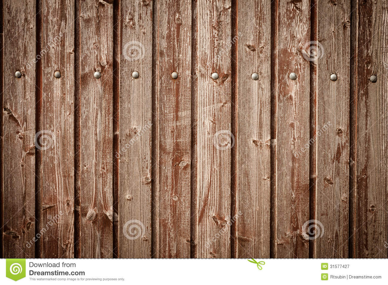 Old Wooden Fences Fence Planks As Background Royalty Free