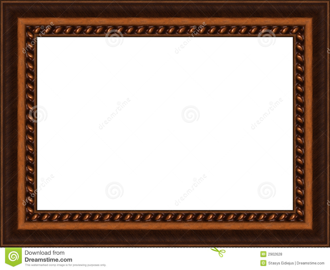 Old Wooden Frame Royalty Free Stock Photos  Image: 2902628