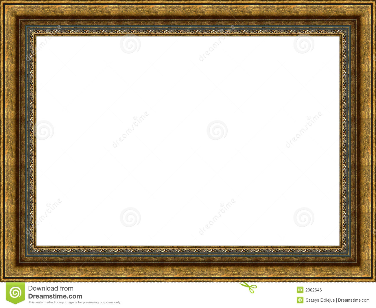 Old Wooden Frame Royalty Free Stock Image  Image: 2902646