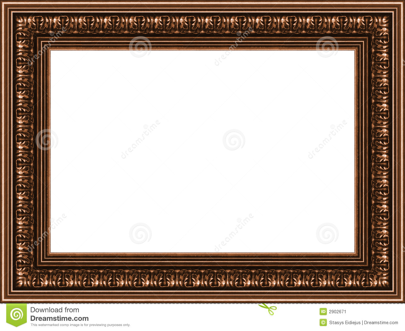 Old wooden frame stock image. Image of framing, background - 2902671