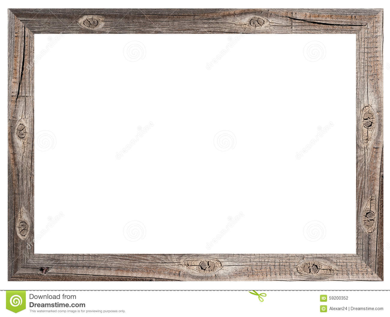 Old Wooden Frame Stock Photo Image Of Trendy Photo