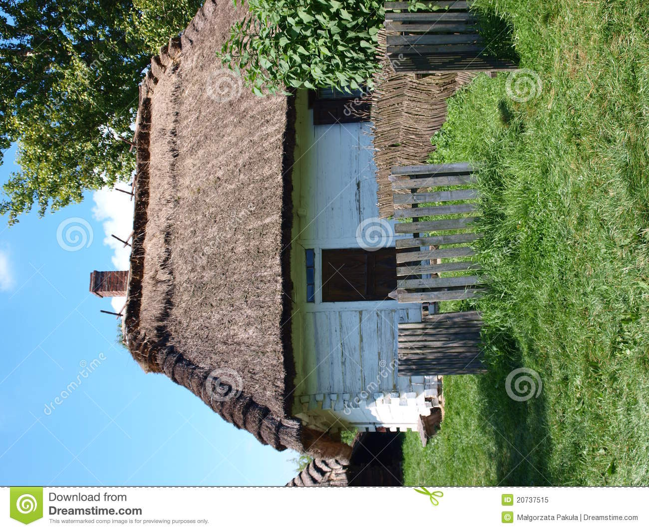Old Wooden House Lublin Poland Royalty Free Stock Photo Image 20737515
