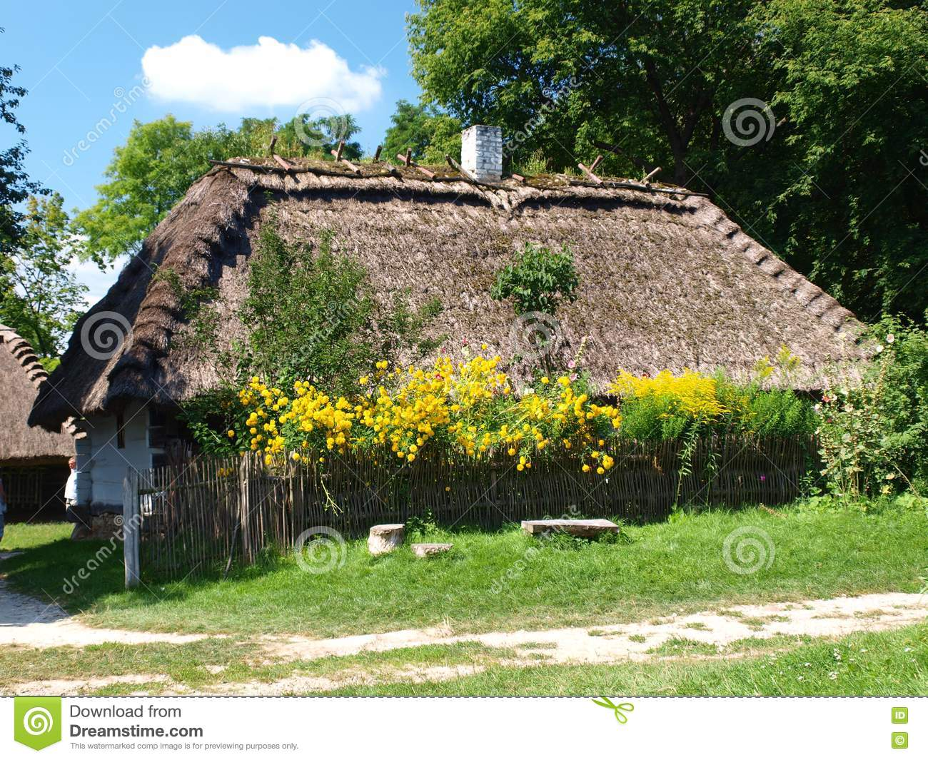 Old Wooden House Lublin Poland Stock Photos Image 20768623