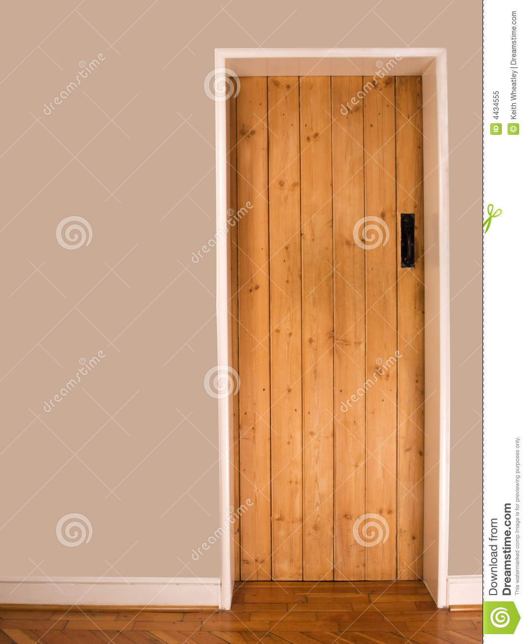 Old wooden interior door stock image image of wooden for Hardwood interior doors