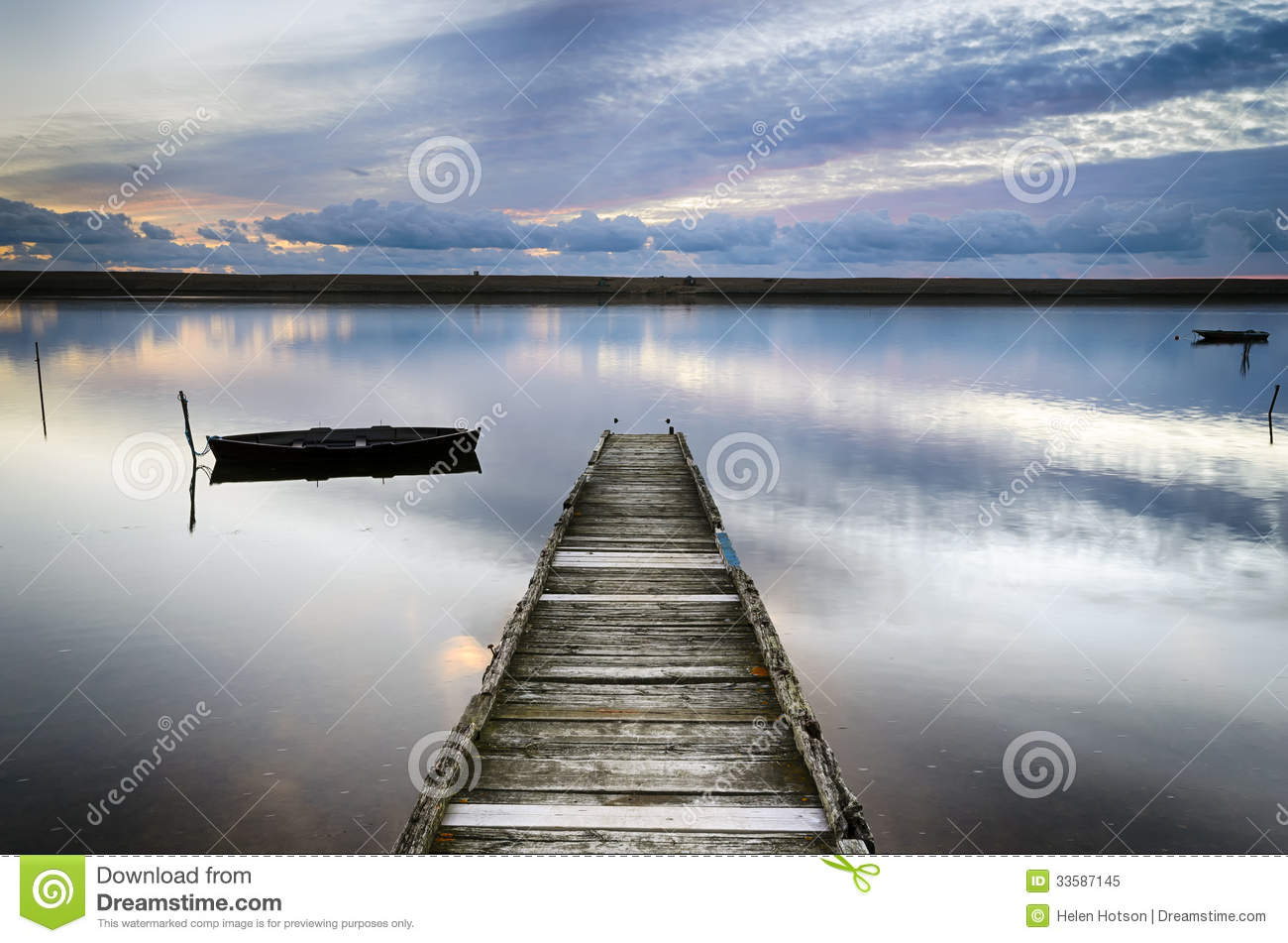 An Old Wooden Jetty