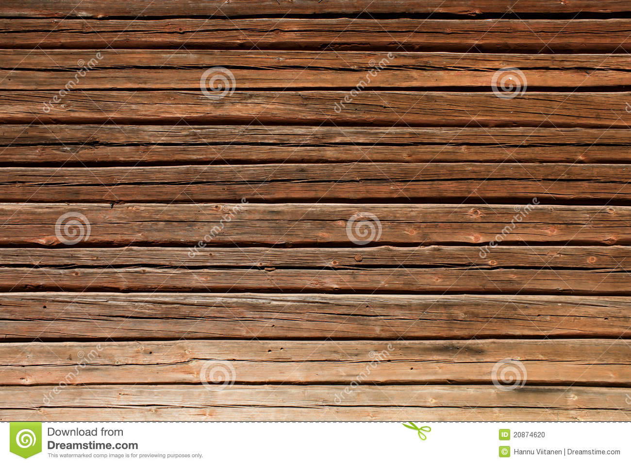 Old wooden log house wall stock photo image