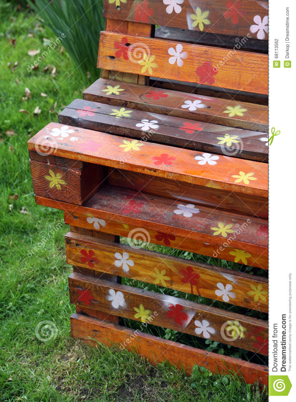 Old Wooden Pallets And Garden Furniture Stock Photo - Image of ...