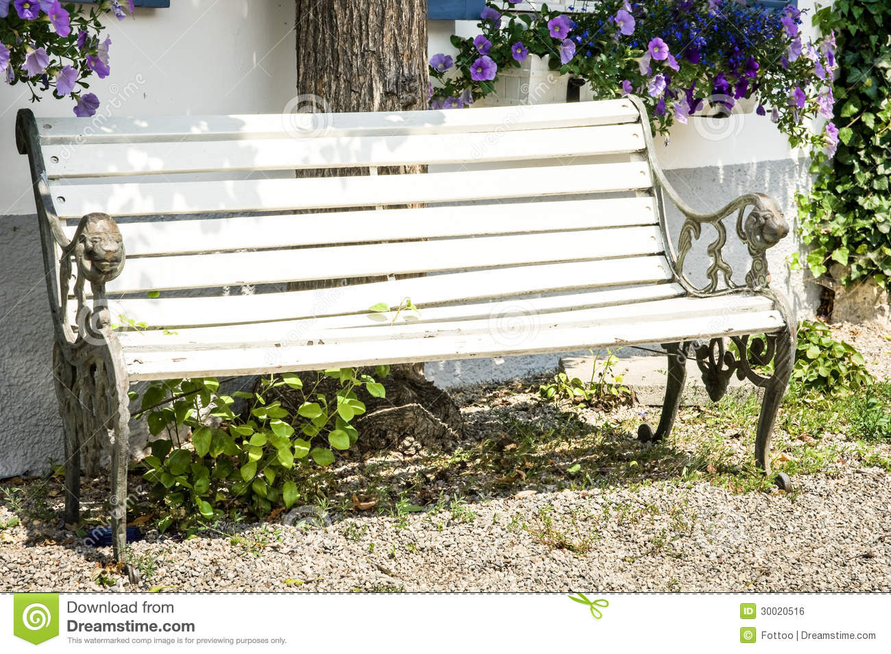 Wooden Park Bench Royalty Free Wooden Park Bench At A Park Royalty Free Stock Photo Image