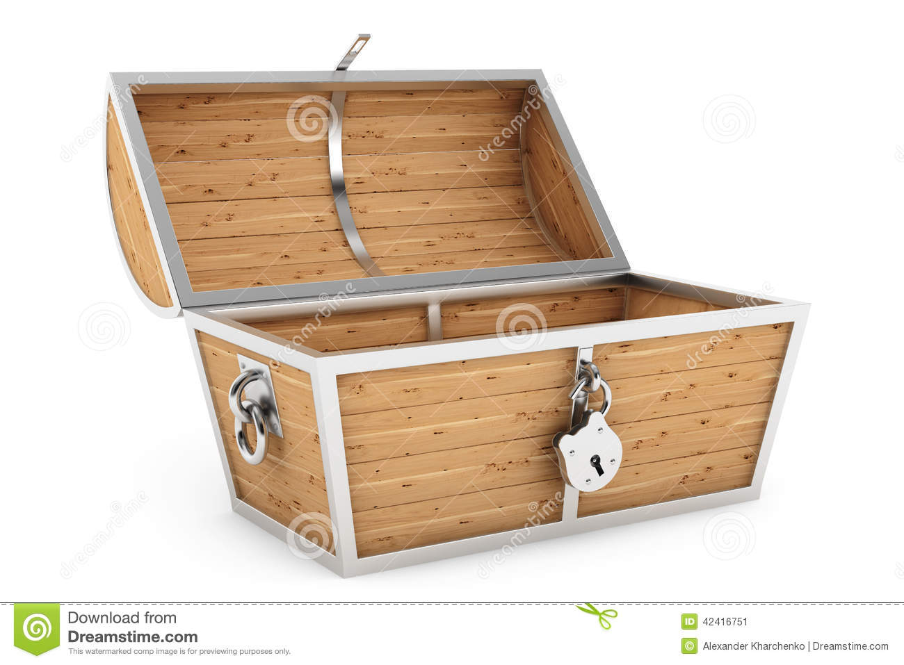 Old wooden pirate treasure chest stock photo image 42416751 - Plan coffre a jouet en bois ...