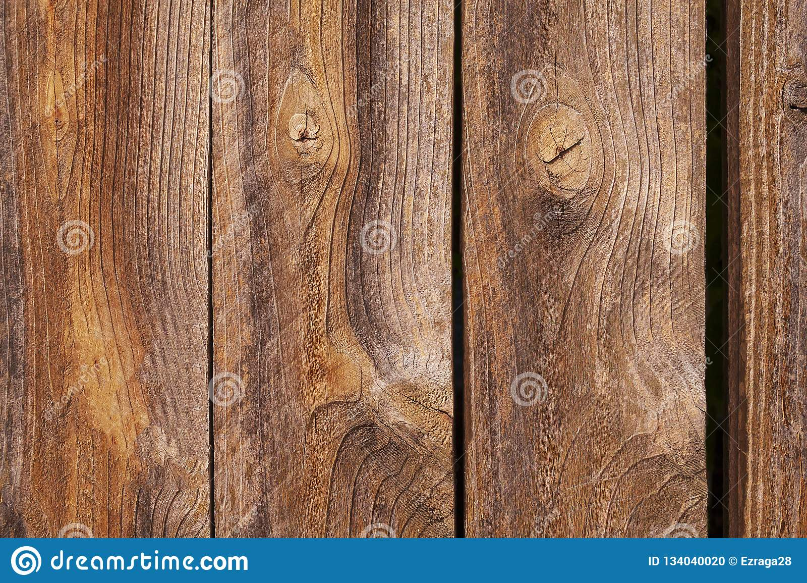 Old wooden planks close up background
