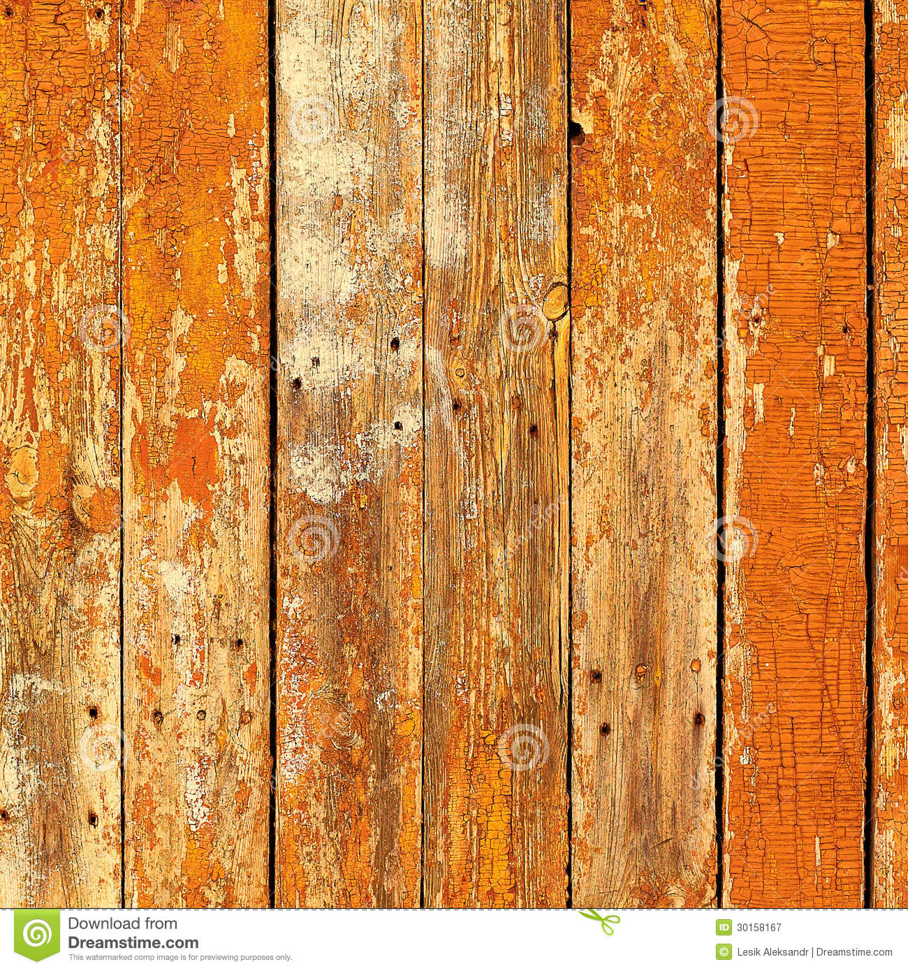 Old Wooden Planks Painted With Brown Paint Cracked By A Rustic B Royalty Free Stock Photography
