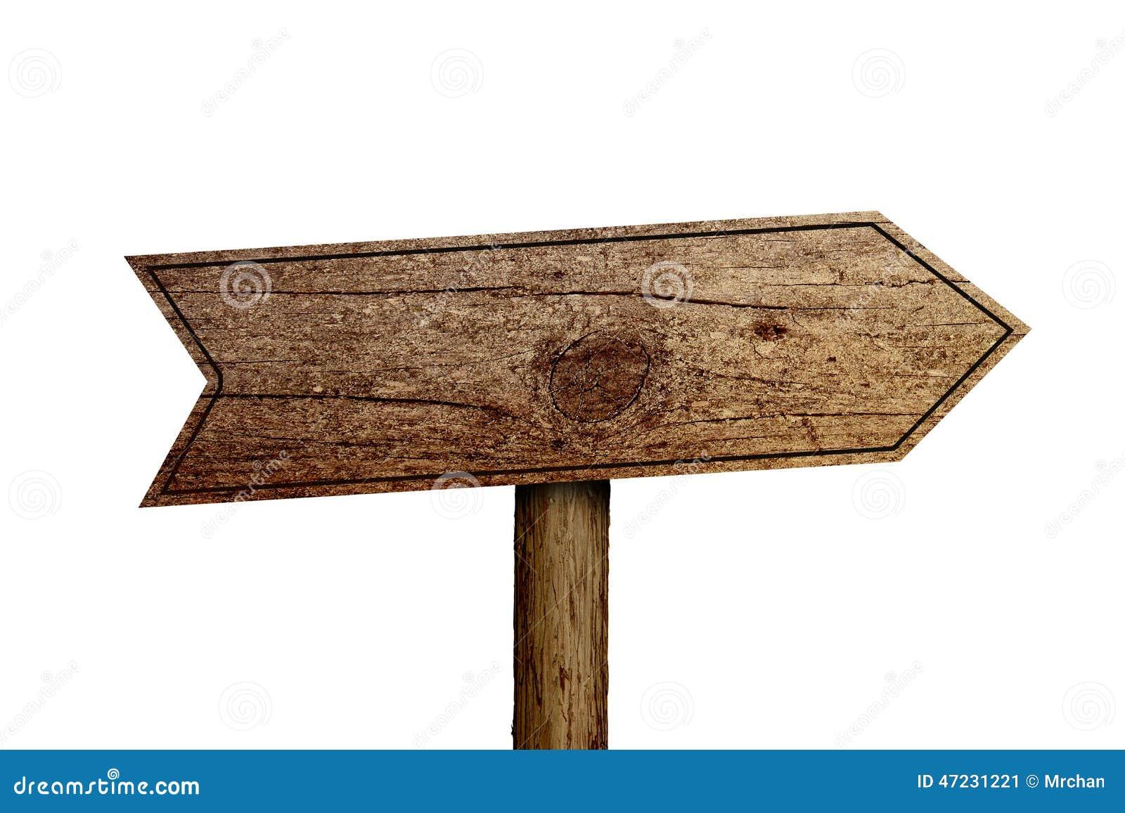 old wooden roadsign isolated stock photo cartoondealer