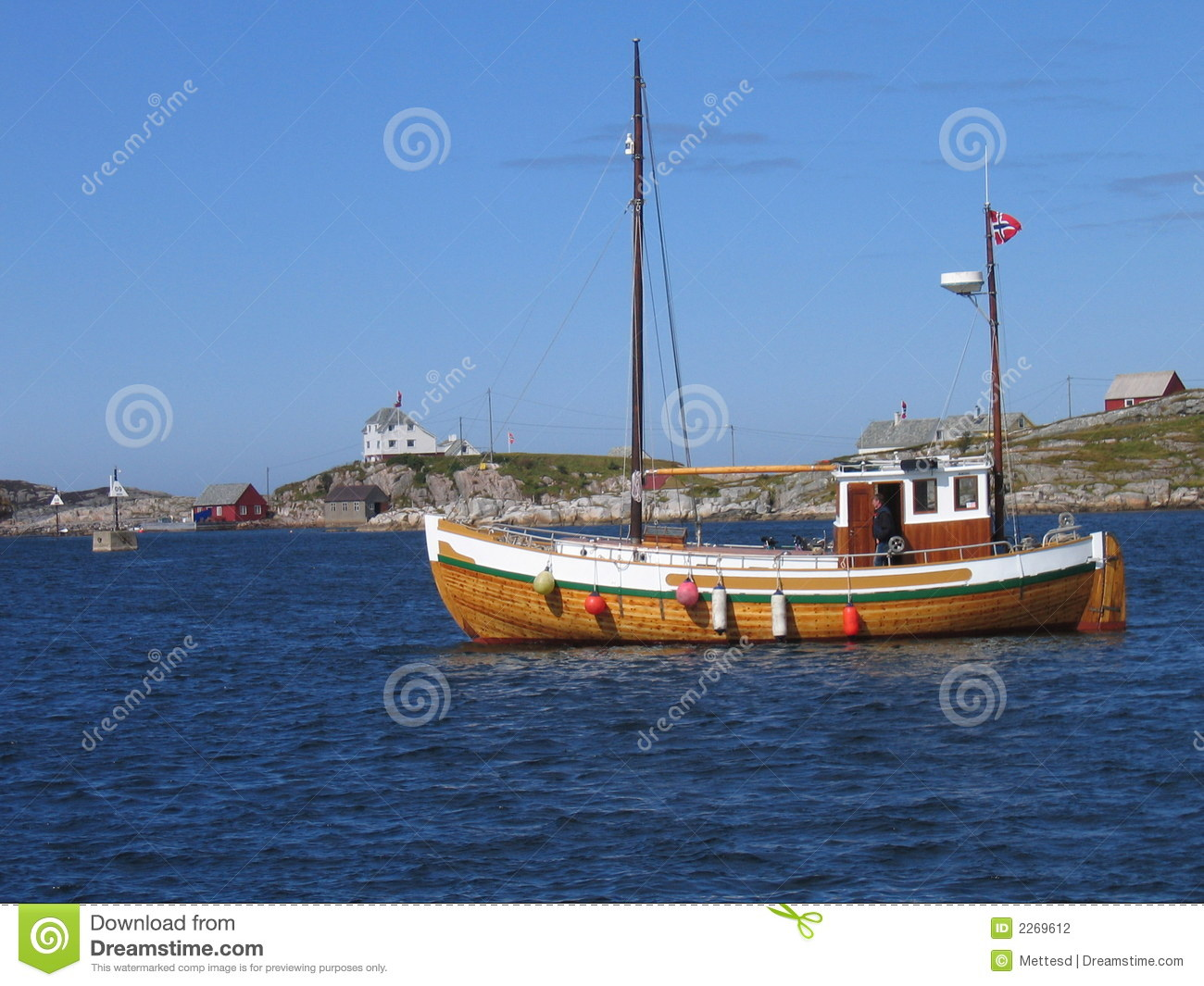 Old Wooden Sailboat Stock Photography - Image: 2269612