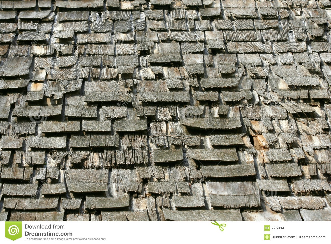 Old Wooden Shingles Stock Photo Image Of Construction