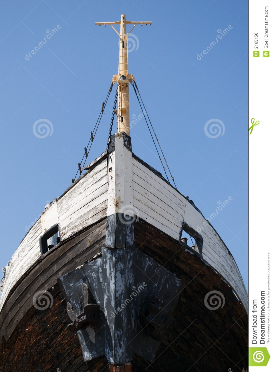 Old Wooden Ship Stock Photo Image Of Plank Nobody Fishing