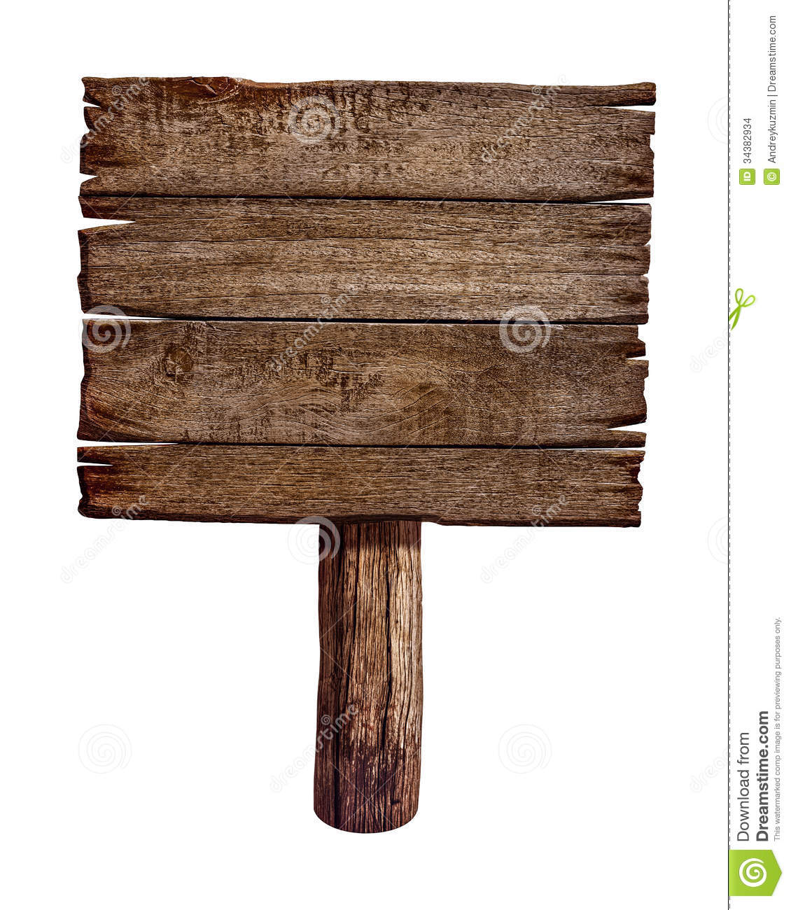 Old Wood Board ~ Old wooden sign board or post stock photo image of plate