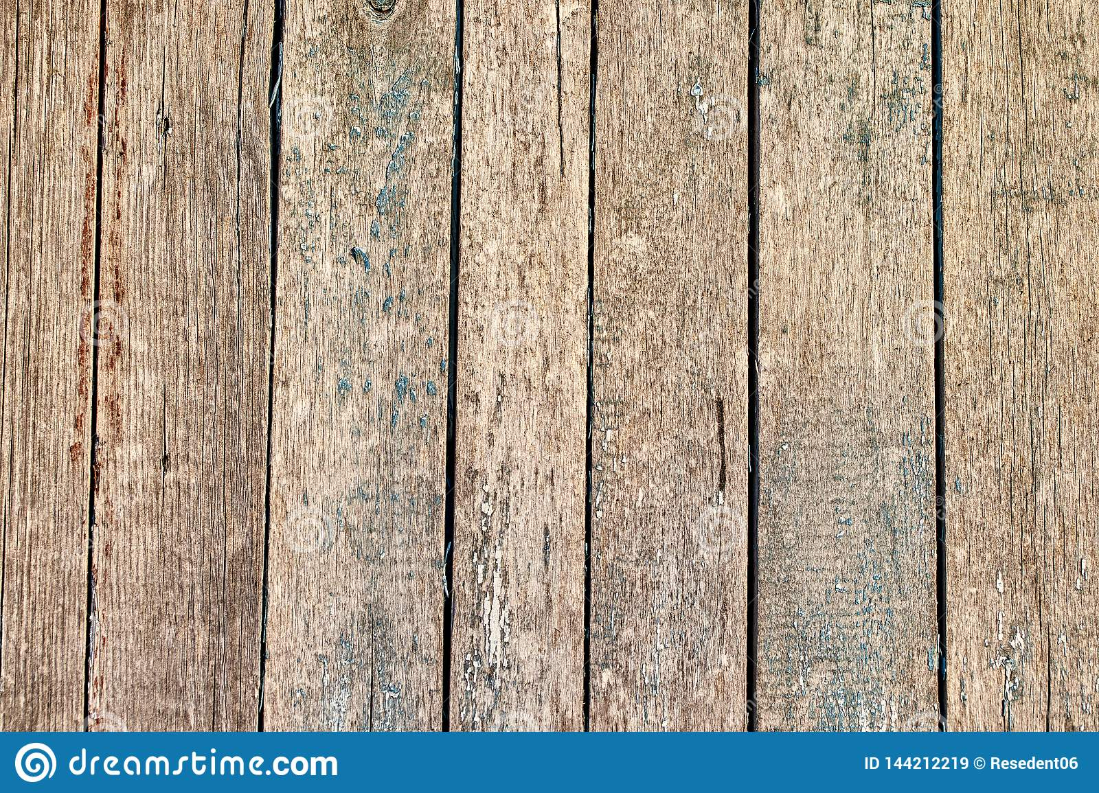 Old wooden texture vertical boards abstract background surface