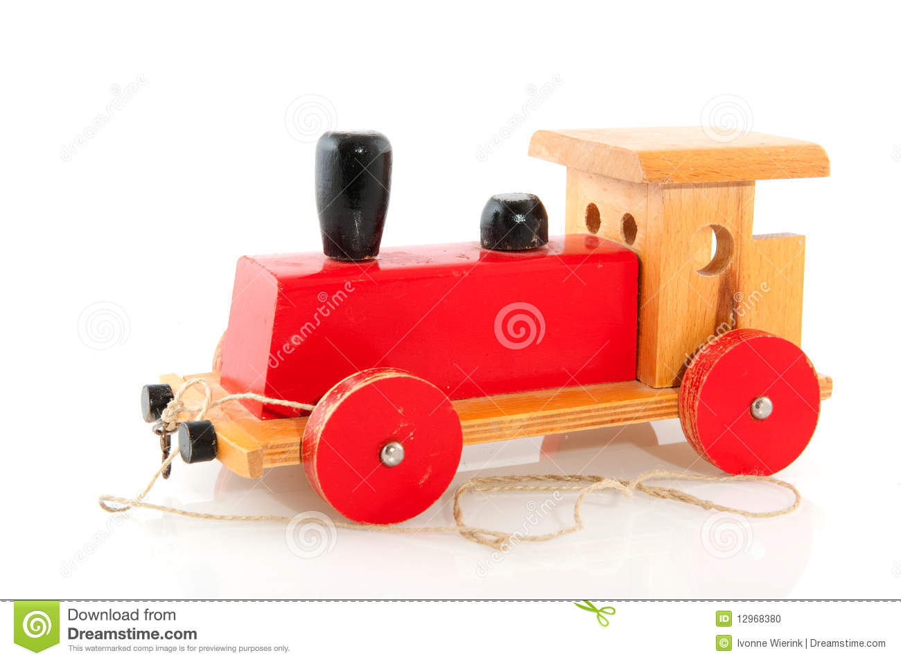Old wooden toy stock photo image 12968380