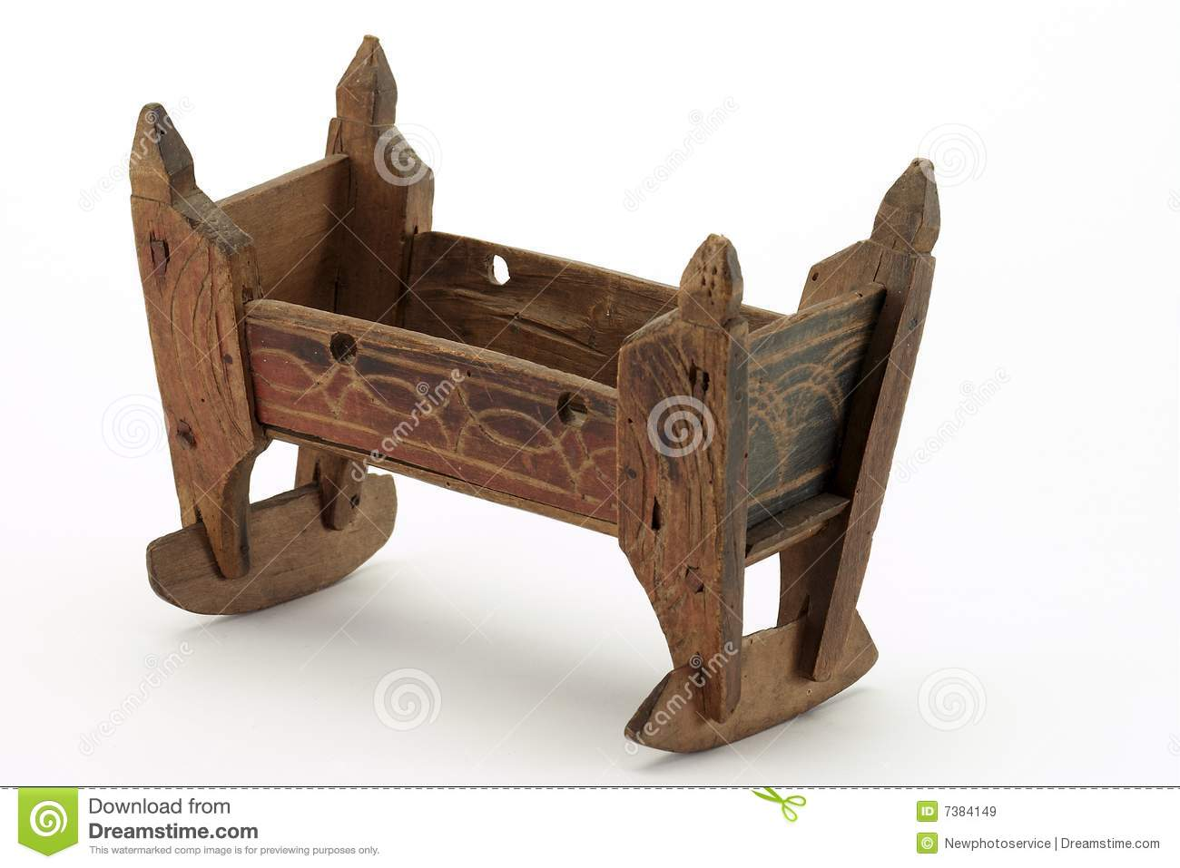 Old Wooden Toy Royalty Free Stock Images - Image: 7384149