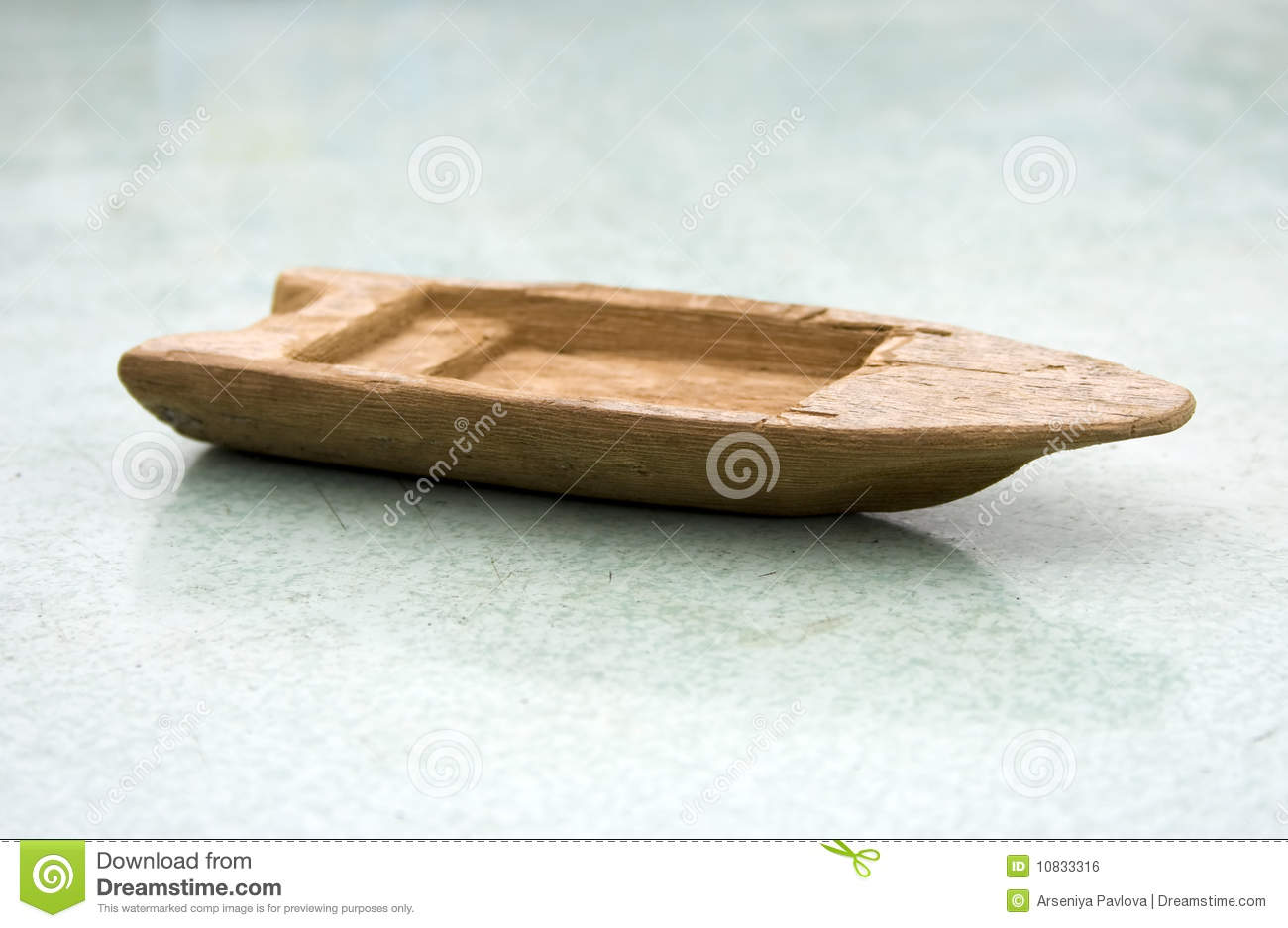 Old Wooden Toy Boat Royalty Free Stock Image - Image: 10833316