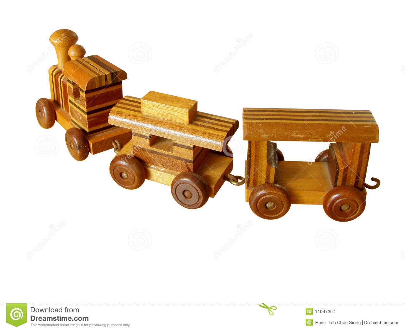 Old Wooden Toy Train Royalty Free Stock Photography - Image: 11047307