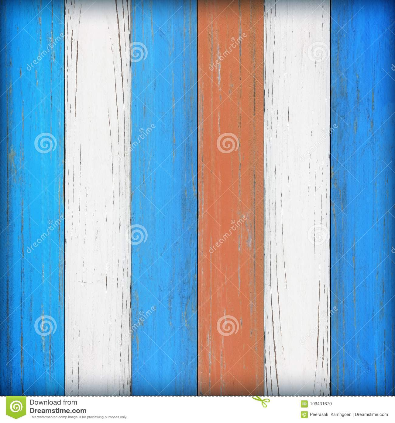 Old wooden wall background or texture; Vintage wood background