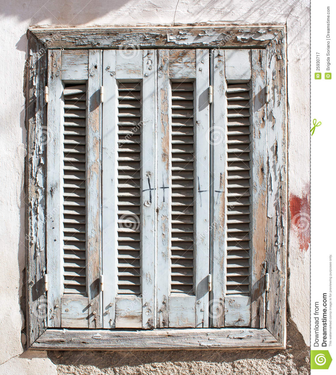 Old Wooden Window Royalty Free Stock Photography Image 25930717