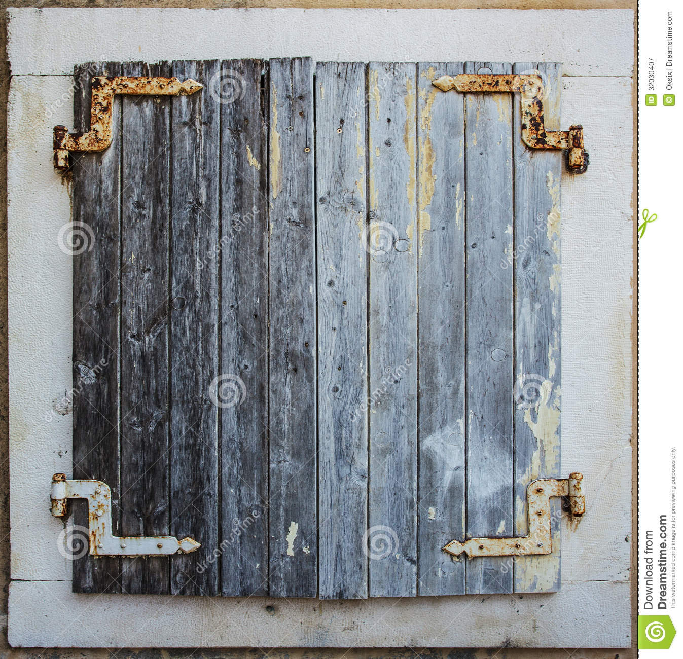Old wooden window shutters stock image image of country for European shutters