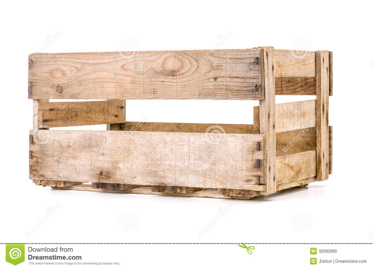 Royalty-Free Stock Photo. Download Old Wooden Wine Crate ...  sc 1 st  Dreamstime.com & Old Wooden Wine Crate Royalty Free Stock Photo - Image: 32992895 Aboutintivar.Com