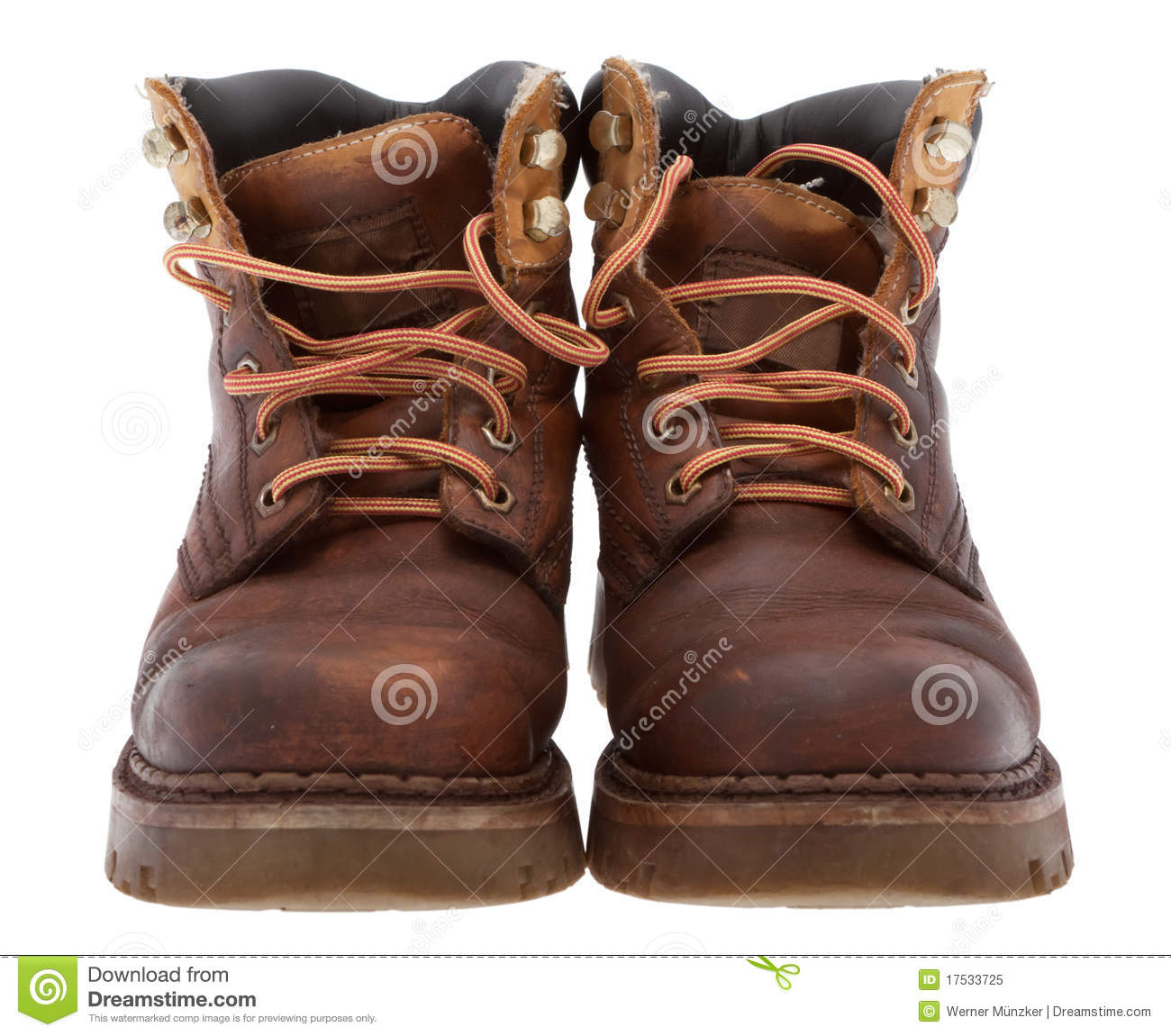 Old Work Boots Royalty Free Stock Photo Image 17533725