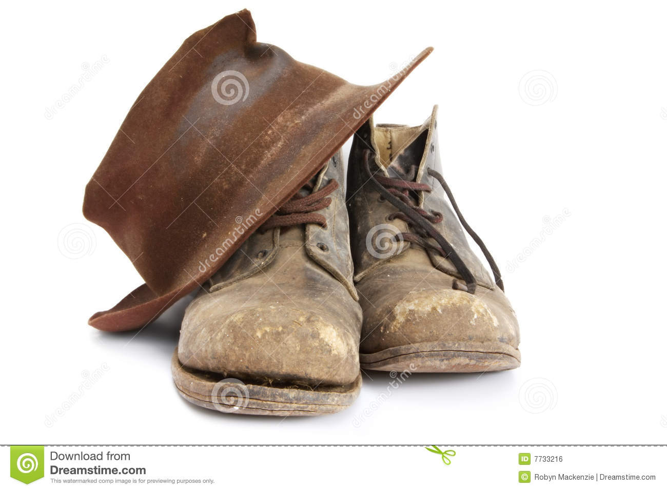 Workers Leather Shoes