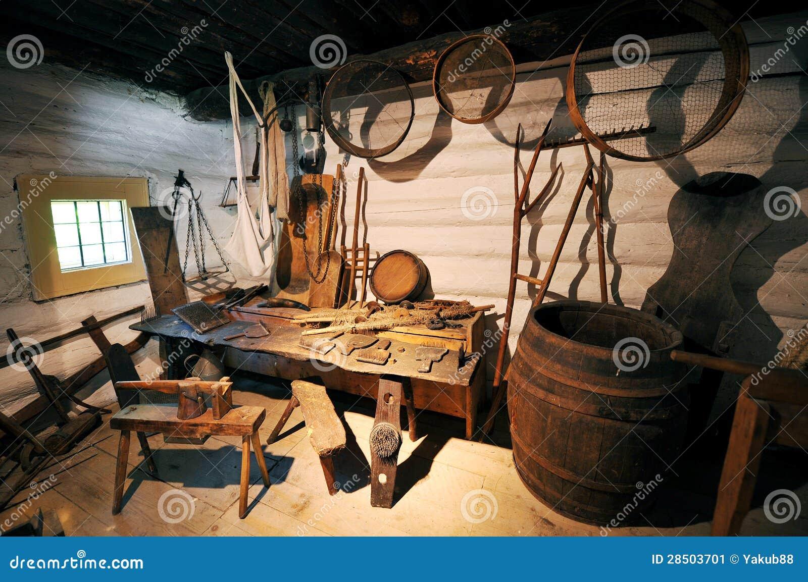 Old Workshop Stock Image Image 28503701