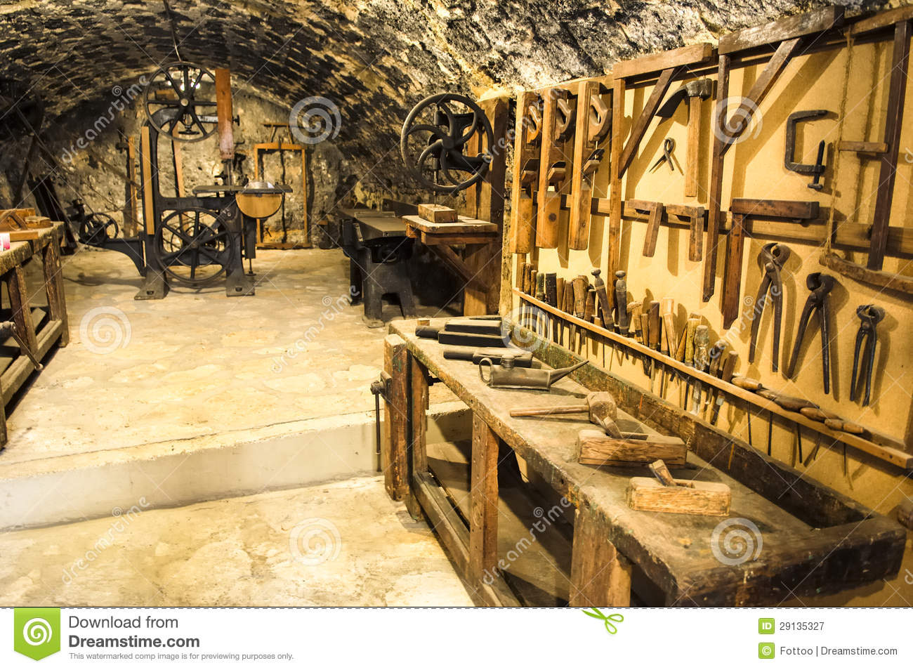 Old Workshop Royalty Free Stock Photography Image 29135327