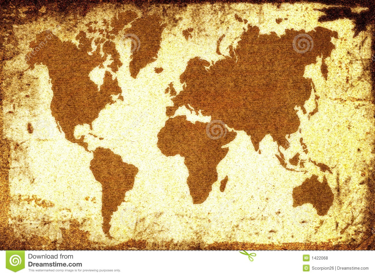 Old world map stock illustration illustration of complete 1422068 old world map gumiabroncs