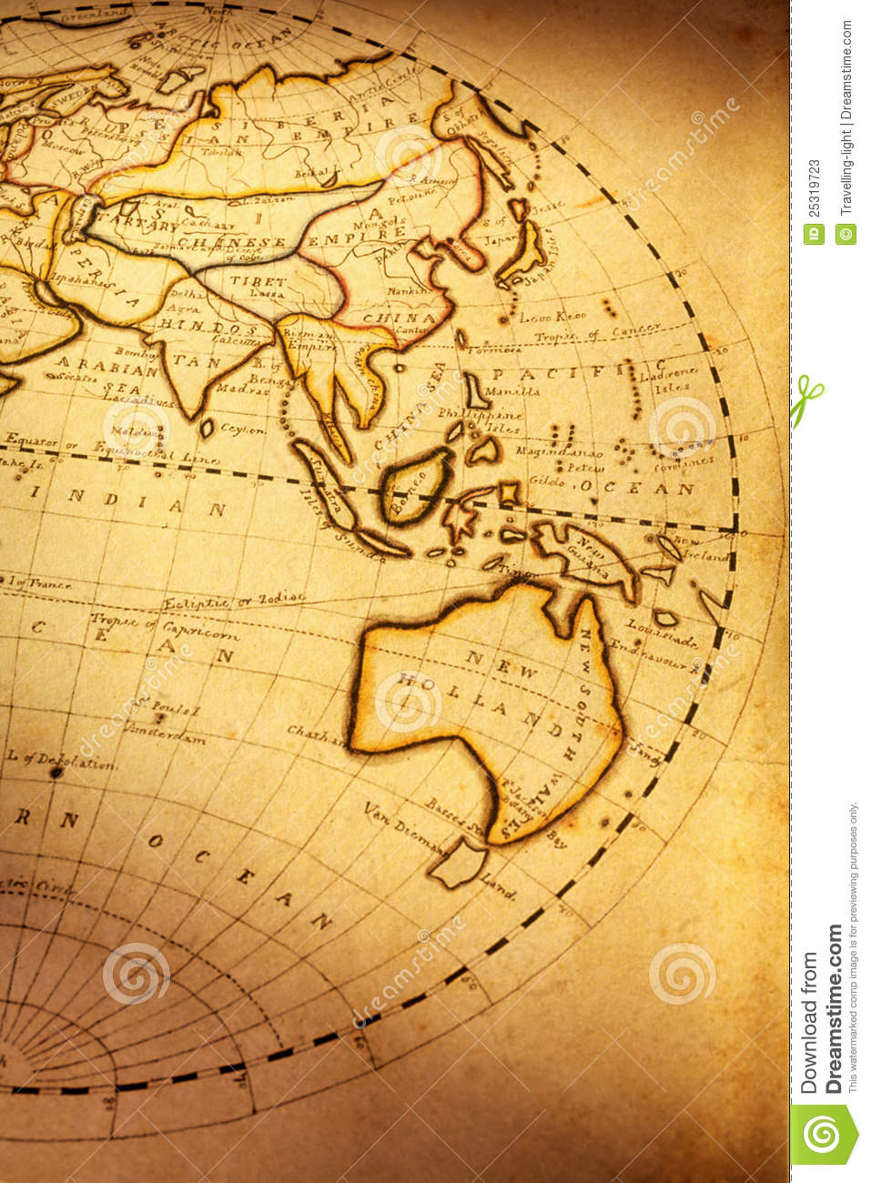 Old world map stock image image of brown indian orange 25319723 download comp gumiabroncs Gallery