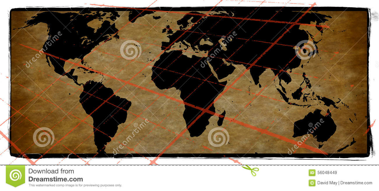 Old world map grunge background stock image image of tarnish old world map grunge background gumiabroncs Image collections