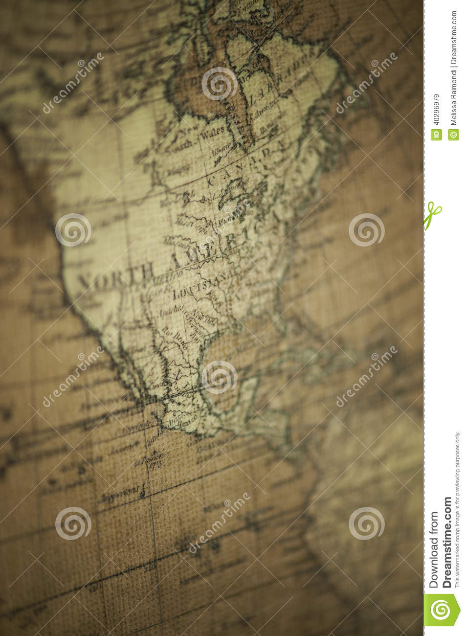 Old world map north america stock image image of vintage north old world map north america royalty free stock photo gumiabroncs Image collections