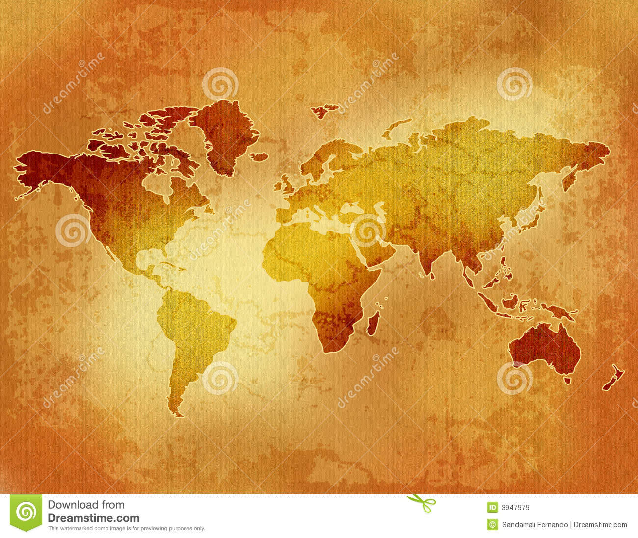 Old world map paper stock illustration image of background old world map paper royalty free stock photo gumiabroncs Images
