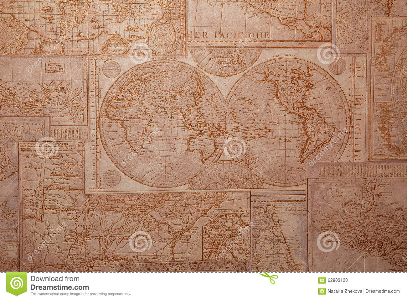 Old world map vintage pattern stock photo image of drawing asia old world map vintage pattern royalty free stock photo gumiabroncs Gallery