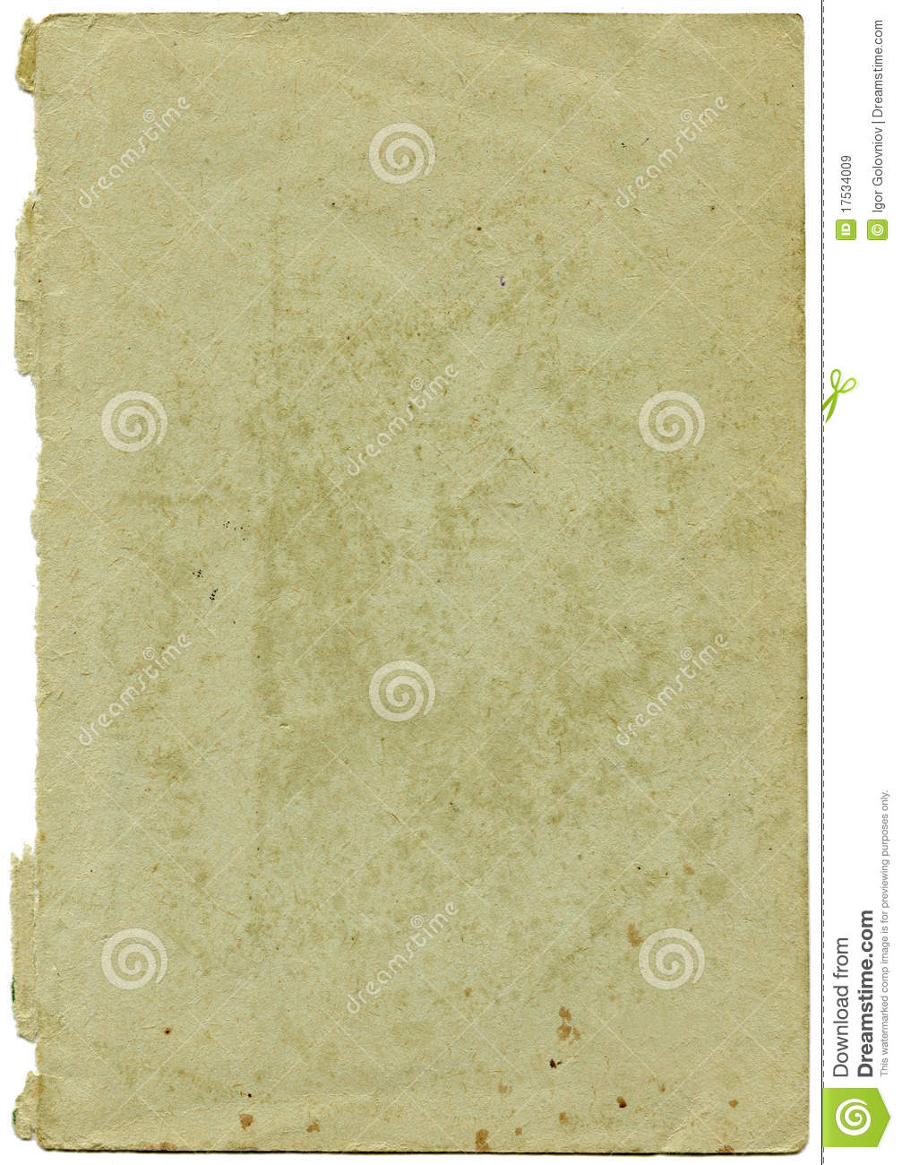 Old and worn paper
