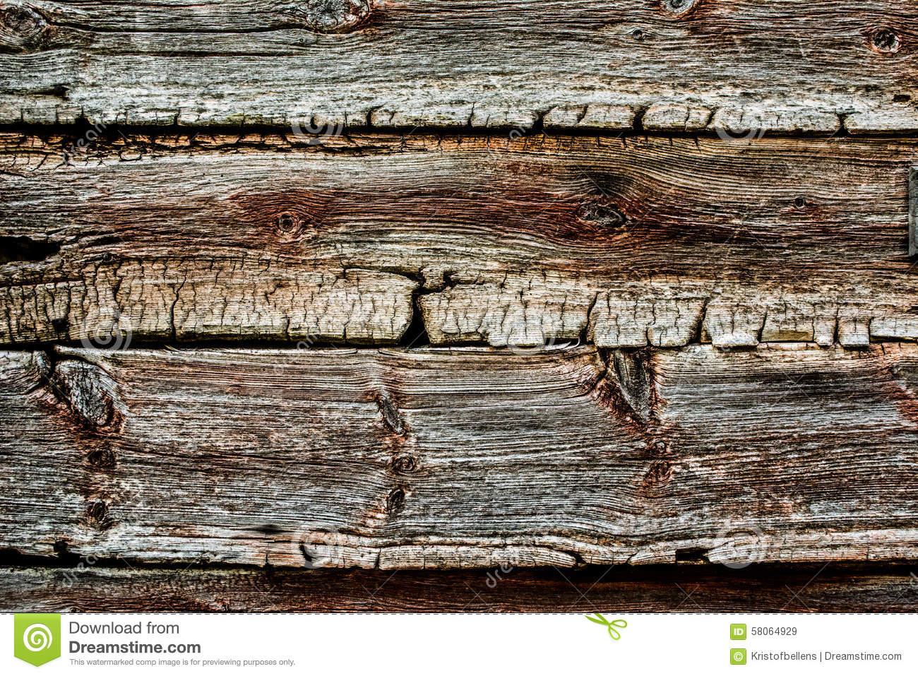 Worn Down Wooden Planks ~ Old and worn wood texture stock image of wooden