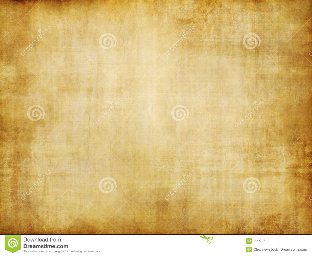 Download Old Yellow Brown Vintage Parchment Paper Texture Stock Illustration - Illustration of brown, abstract: 23251717