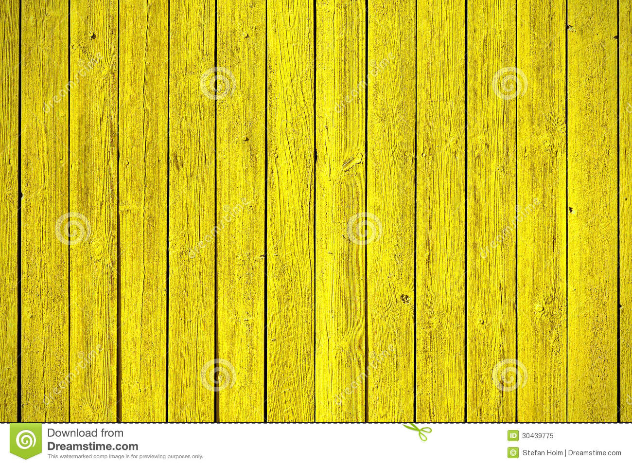 Old Yellow Wood Panels Royalty Free Stock Photo Image
