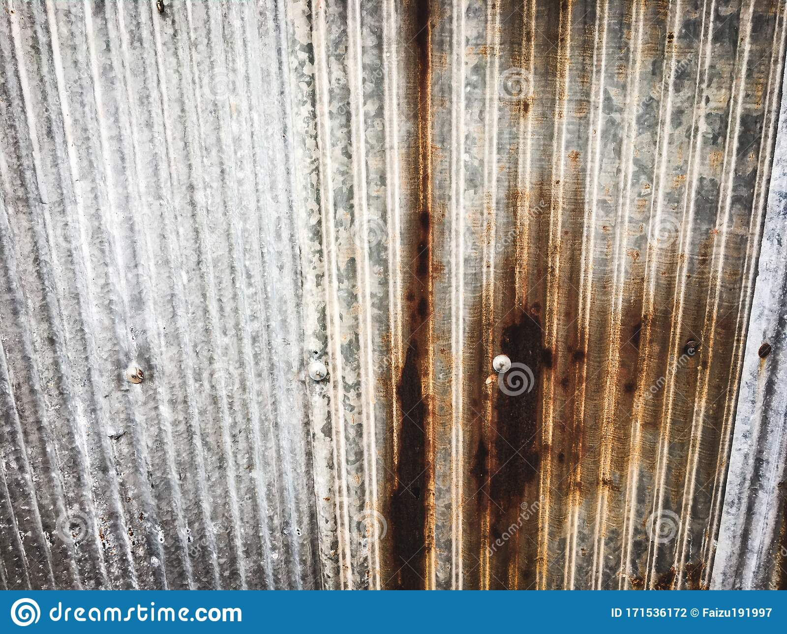 Old Zinc Sheet Roof Texture Background For Work And Design Stock Photo Image Of Surface Work 171536172