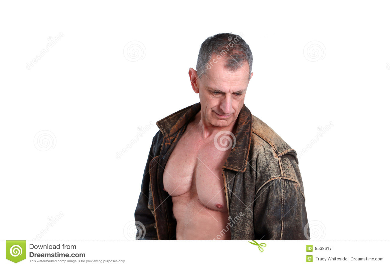 Http Www Dreamstime Com Royalty Free Stock Photography Older Man Shirtless Image8539617