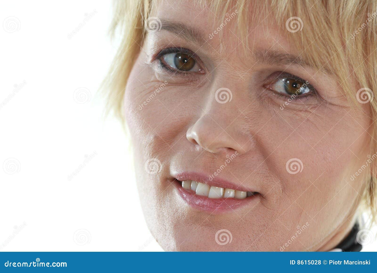 Older woman portrait